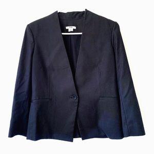 Helmut Lang black blazer suit jacket
